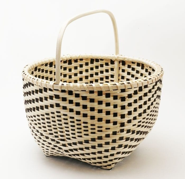 Fred Tomah Wabanaki ii Reflection basket