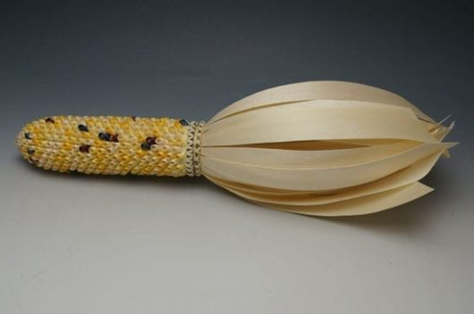 Theresa Secord baskets: large maize