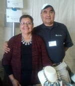 Lorenzo and Mary Tafoya