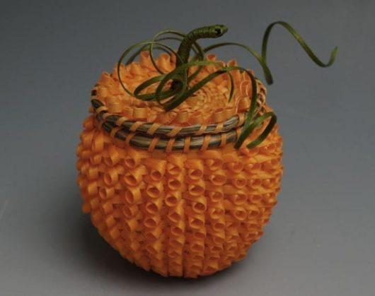 Ganessa Frey pumpkin basket