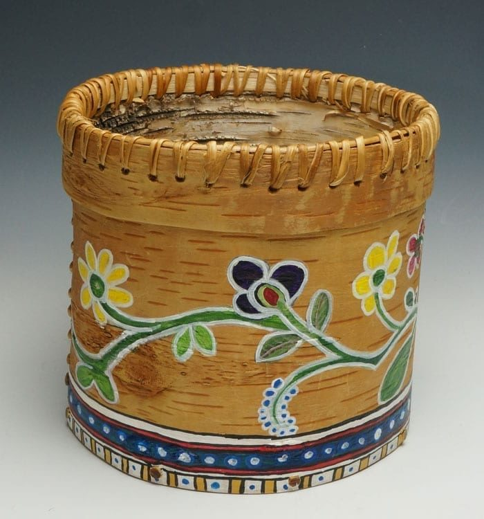 Gina-Brooks-painted-birch-bark-ME00389-4