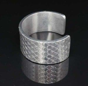 Decontie & Brown aluminum bracelet