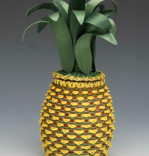 Ganessa Frey pineapple basket