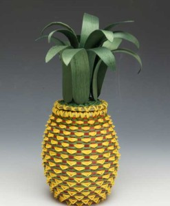 Ganessa Frey pineapple basket
