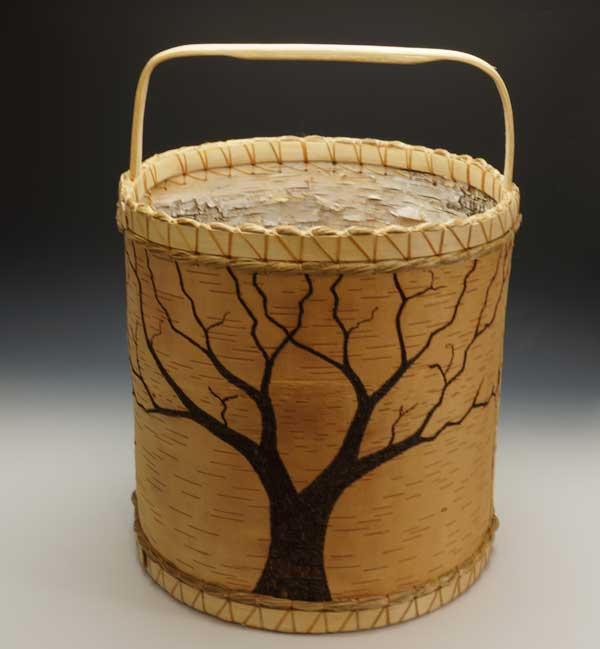 Aron Griffith tree basket