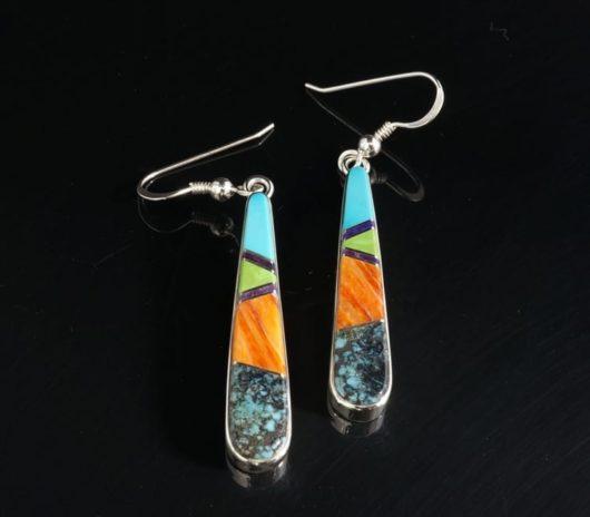 Earl Plummer Inlaid Earrings
