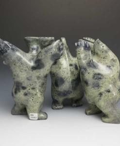 Joanie-Ragee-bear group sculpture