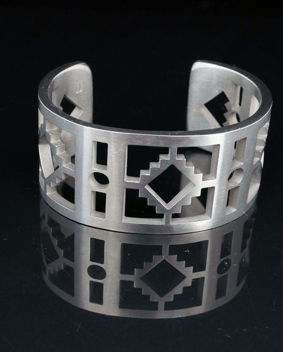 Carlton Jamon Stainless Steel Bracelet