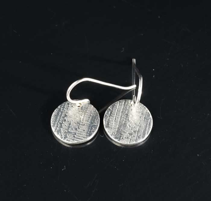 Chris Pruitt large coin earrings