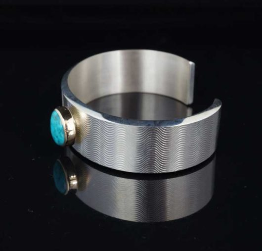 Chris Pruitt Turquoise Bracelet