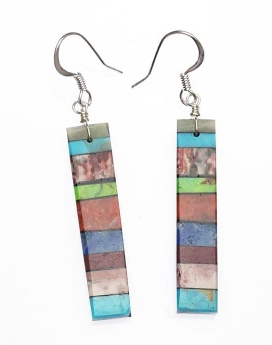 Mary Tafoya Stacked Earrings 6