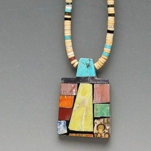 Mary Tafoyta Mosaic Necklace 5