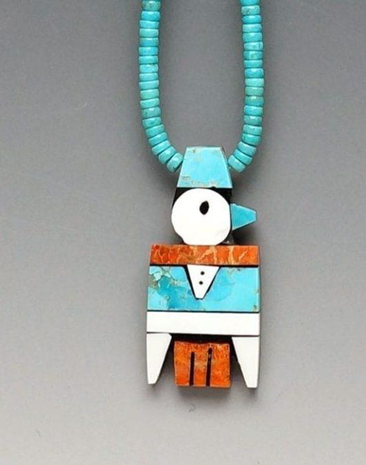 Mary Tafoya Thunderbird Necklace