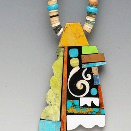 Mary Tafoya Mosaic Necklace SWJ01517