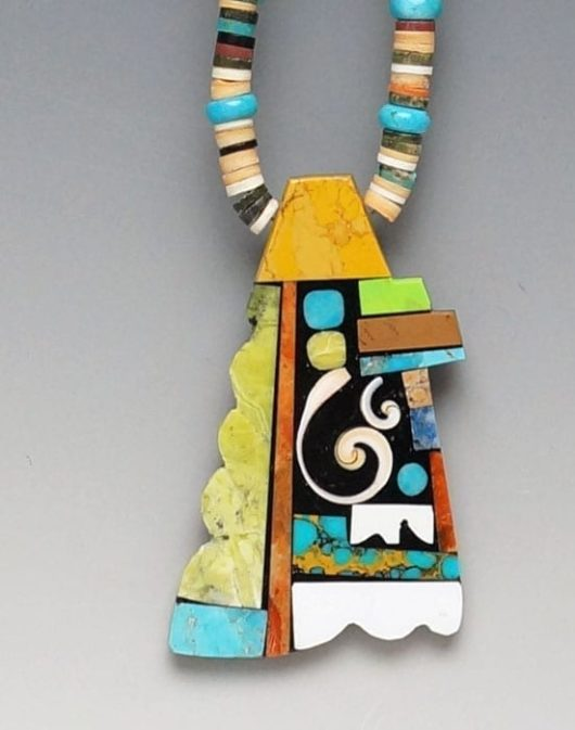 Mary Tafoya Mosaic Necklace SWJ01517
