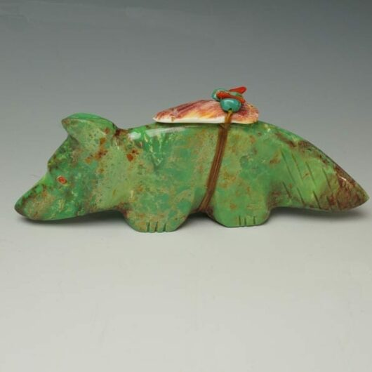 Lena Boone Turquoise Wolf