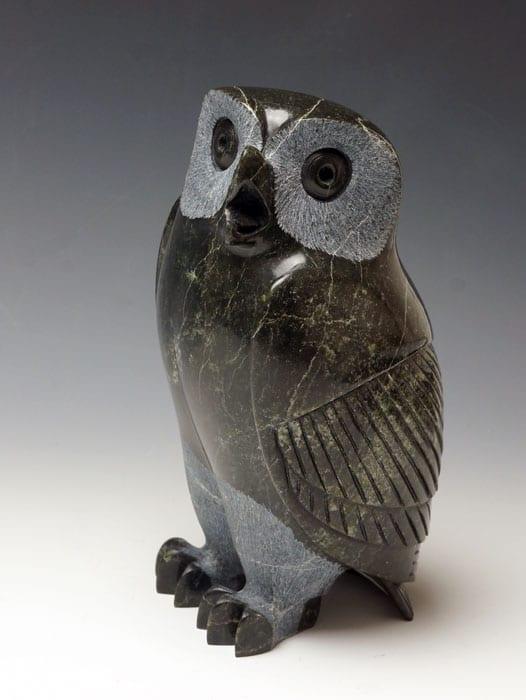 Pitseolak Qimirpik Owl