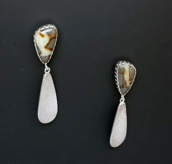 Althea Cajero Jasper Earrings