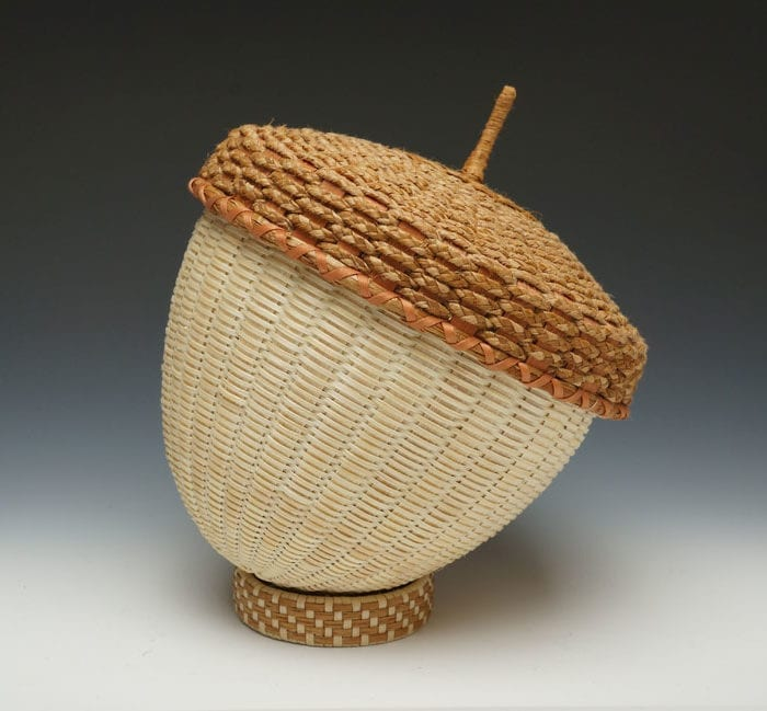 Jeremy Frey acorn basket