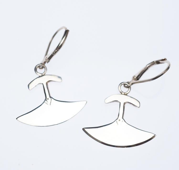 Mathew Nuqingak Ulu Earrings