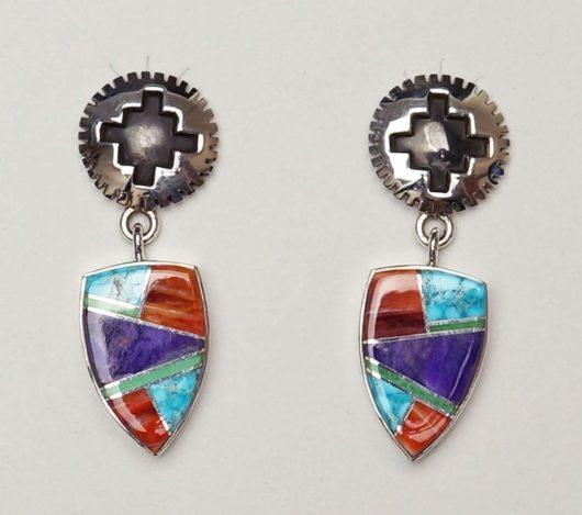 Earl Plummer Rug Design Earrings