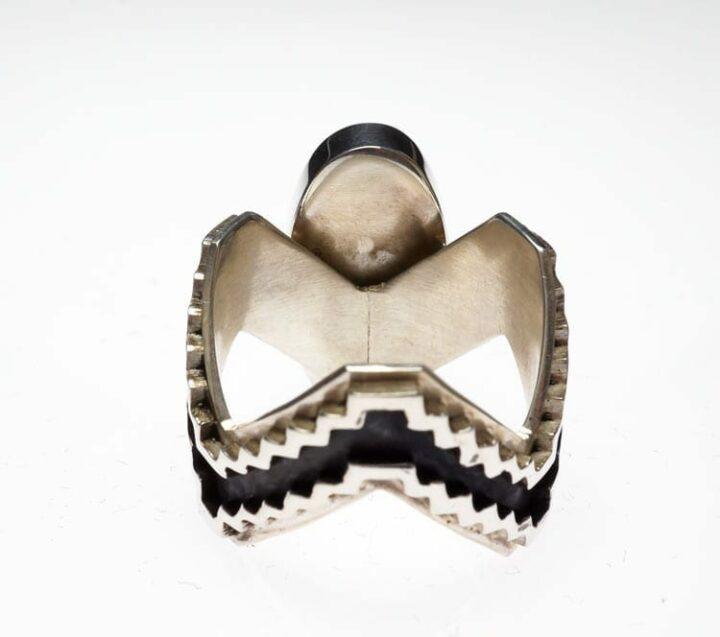 Earl Plummer rug design ring