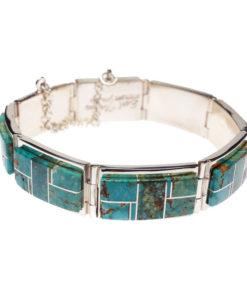 Earl Plummer wide link bracelet
