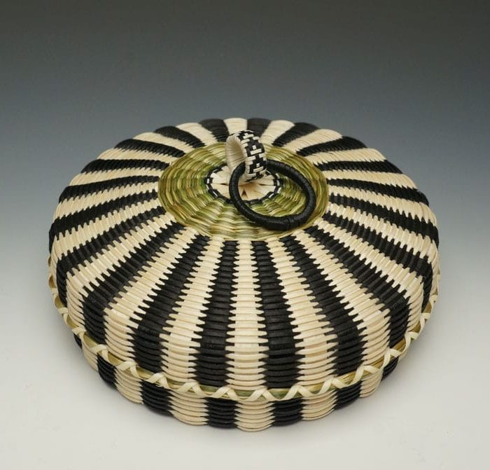 Jeremy Frey flat fine-weave basket - large