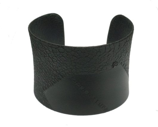 Margaret Jacobs Black two-tone cuff
