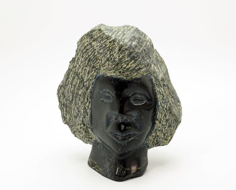 Adamie Ningeo bust sculpture