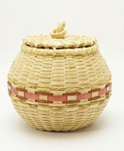 Barbara Francis round basket