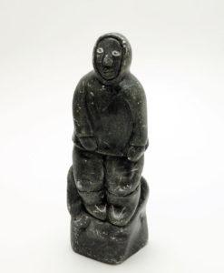 Inuit sculpture human figure