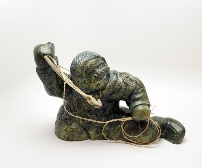 Inuit sculpture Pitsiulak Michael Hunter