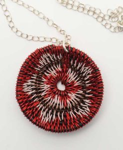 LaKota Scott Chuparosa Basket Necklace