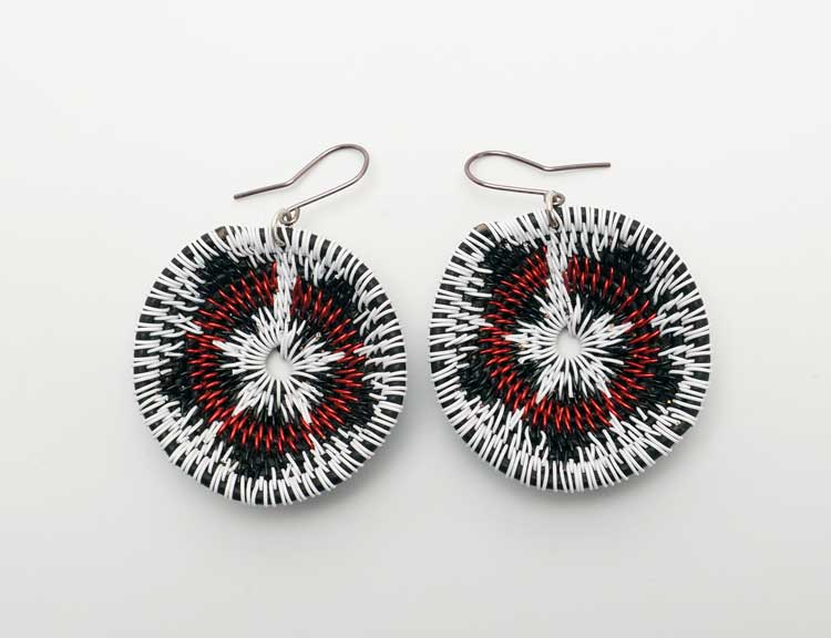 LaKota Scott Desert Lily Basket Earrings