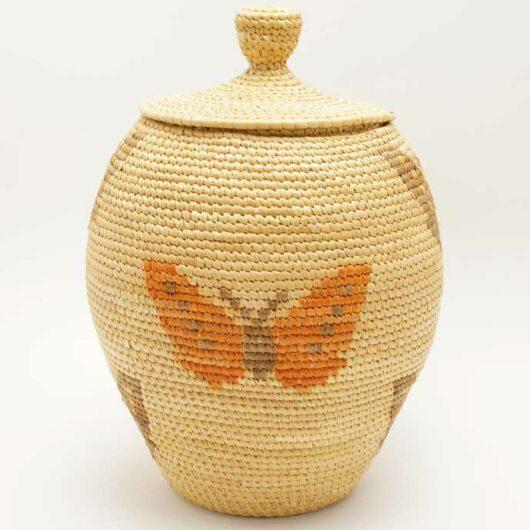 Vintage Hooper Bay Butterfly Basket