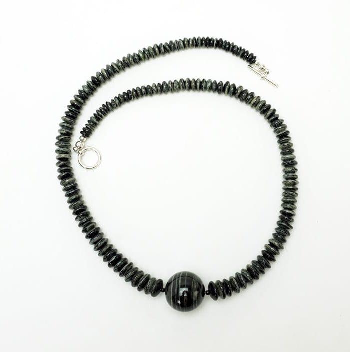 Coren Conti Zebra jasper necklace 3