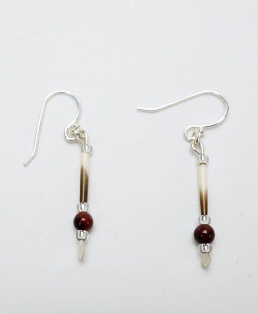 Jennifer Neptune quill earrings