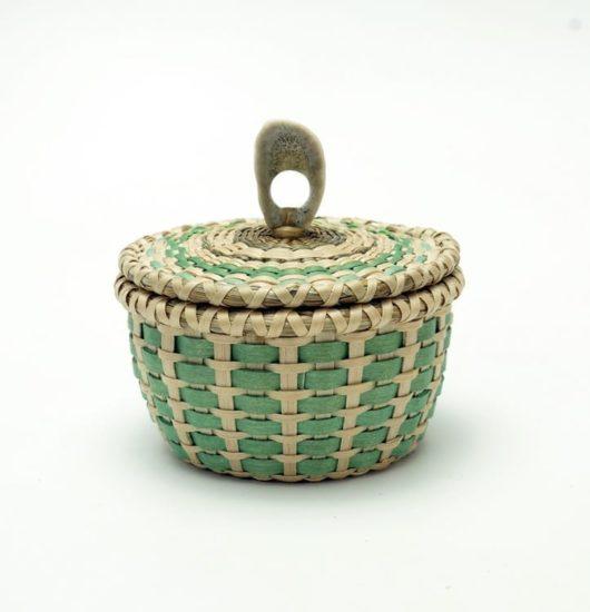 Sarah Sockbeson miniature basket