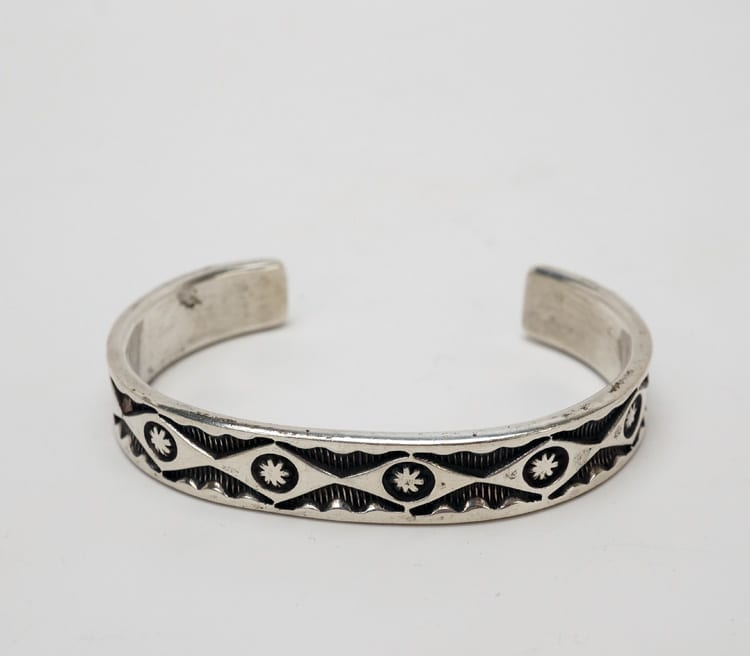 away stamped vintage bracelet navajo deep product gallery home