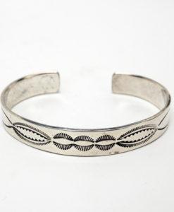 Vintage Navajo Stamped Bracelet