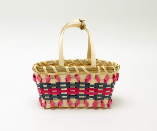 Jane Zumbrunnen miniature shopping basket
