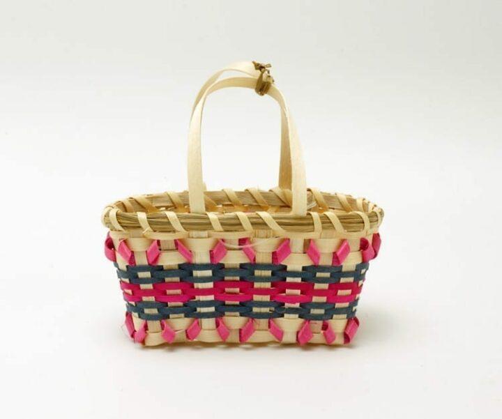 Jane Zumbrunnen miniature shopping basket
