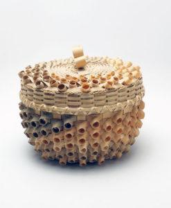 Barbara Francis curlycue basket