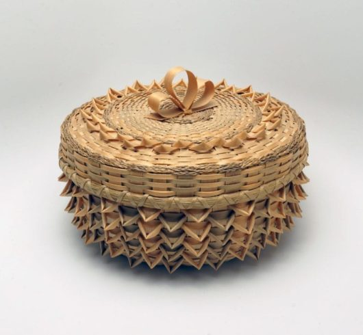 Barbara Francis point basket
