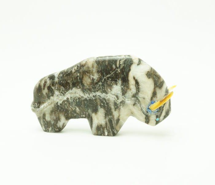 Josh Leki alabaster bison