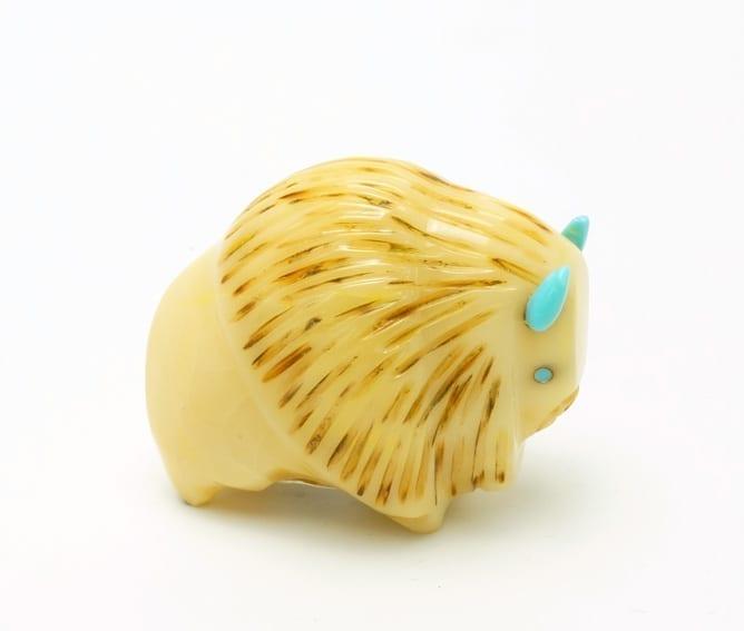 Gale Lucio Tagua Nut Bison