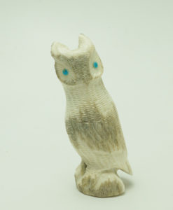 Zuni antler owl