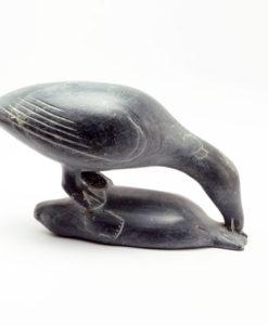 Inuit sculpture Akitirk bird