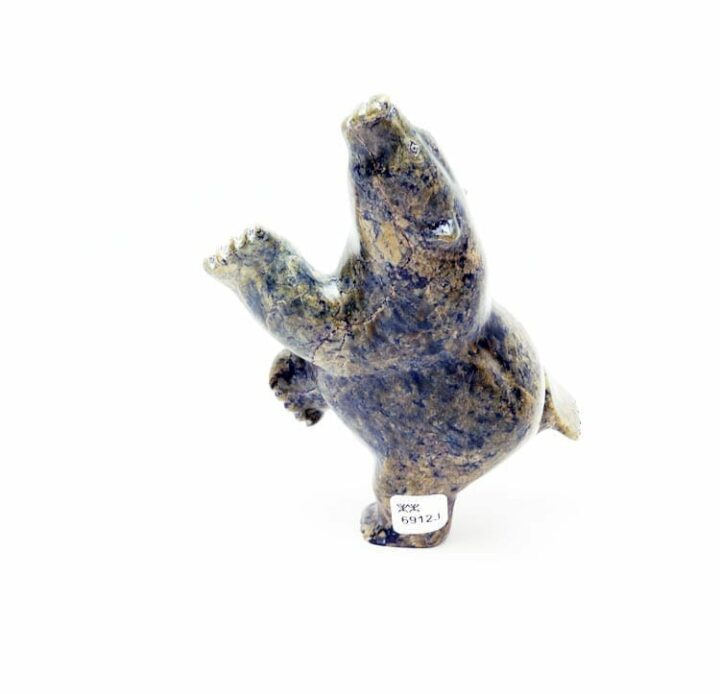 Inuit sculpture Killiktee Killiktee dancing bear